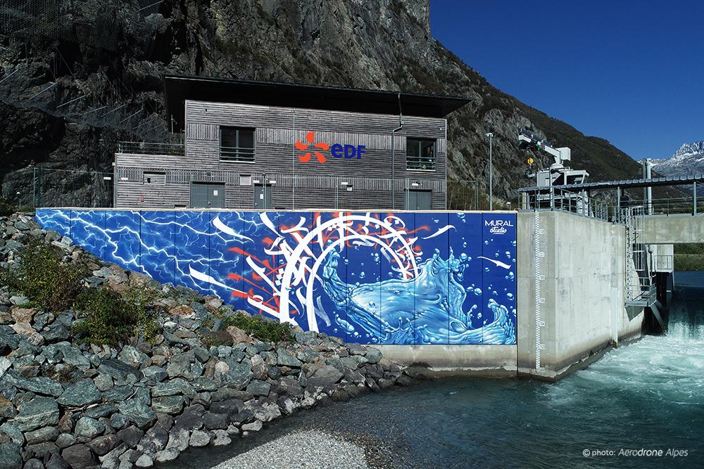 fresque edf mural studio
